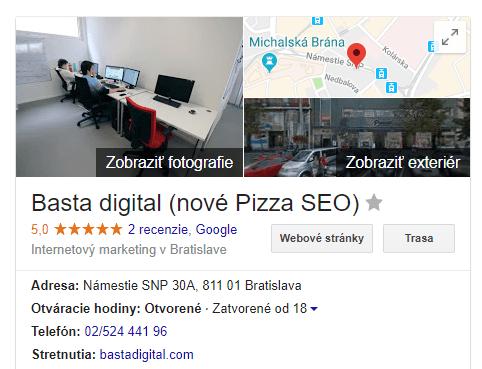 Neaktuálne lokálne výsledky (na obrázku naopak aktuálne)