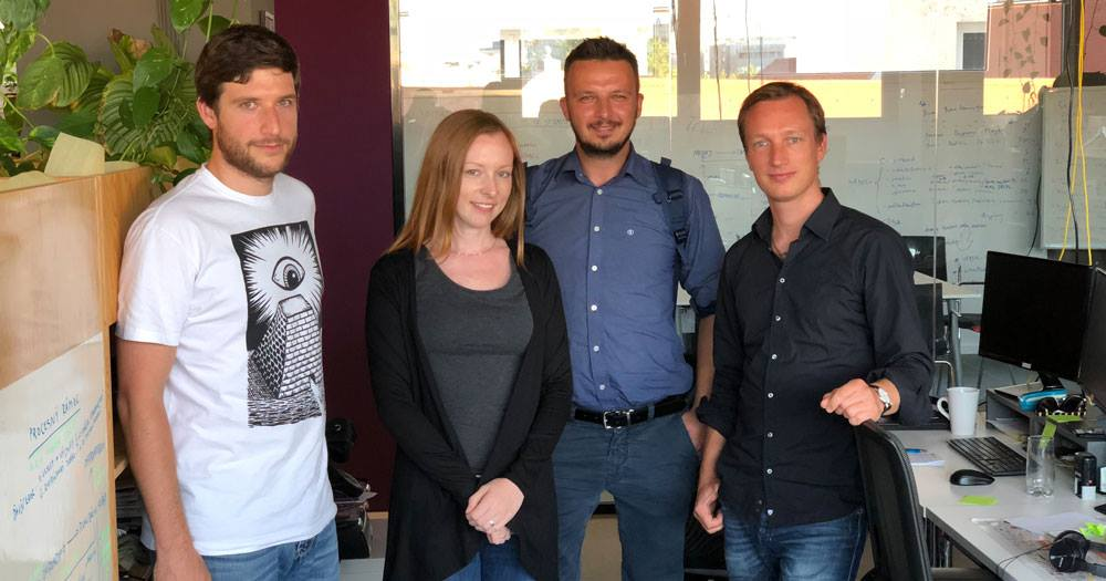 Naši priatelia z rakúskej agentúry .kloos na návšteve v Bratislave